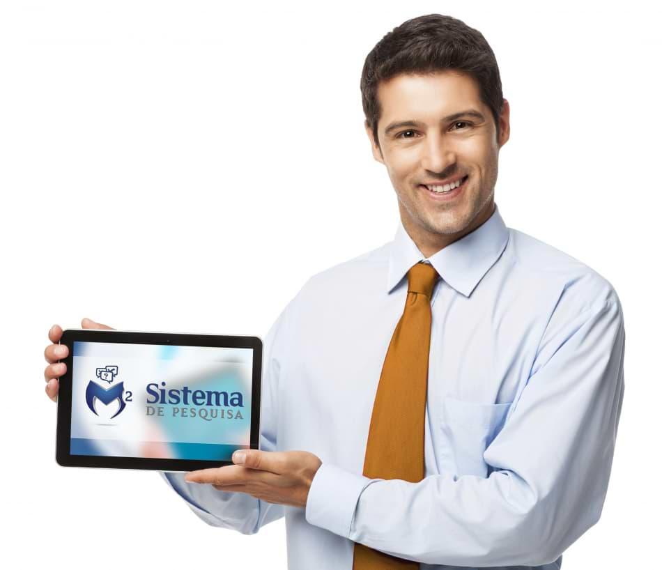 Sistema de pesquisa em tablet M2